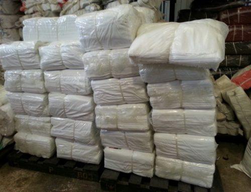 ผ้ายืดสีขาว ในช่วงเทศกาลกินเจ