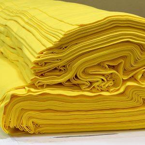 ผ้ายืดสีเหลืองจันทร์ KC 007