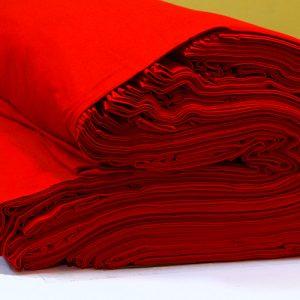 ผ้ายืดสีแดง KC 008