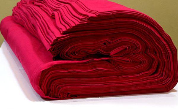 ผ้ายืดสีบานเย็น KC 009