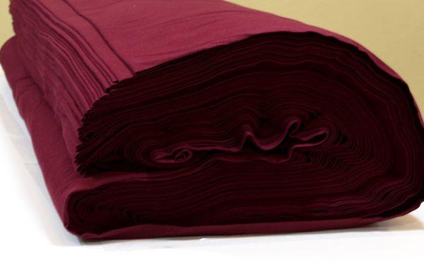 ผ้ายืดสีแดงเลือดหมู KC 016