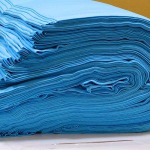 ผ้ายืดสีฟ้าใส KC 019