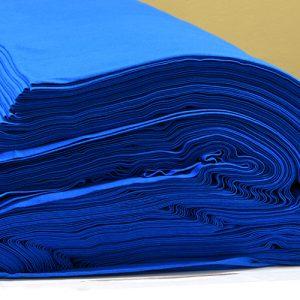 ผ้ายืดสีฟ้าทะเล KC 020
