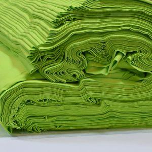 ผ้ายืดสีเขียวมะนาว KC 029