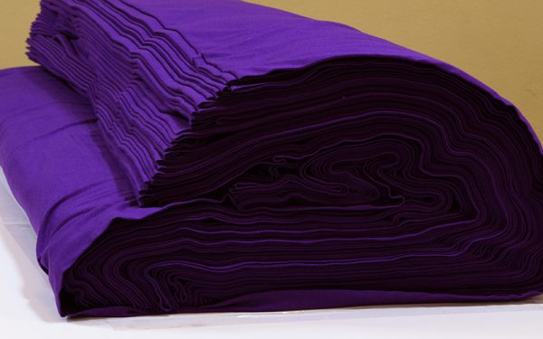 ผ้ายืดสีม่วง KC 033