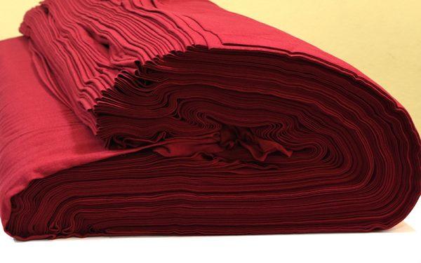 ผ้ายืดสีแดงเลือดหมูใหม่ KC 044