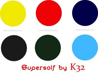 สีผ้ายืด supersolf